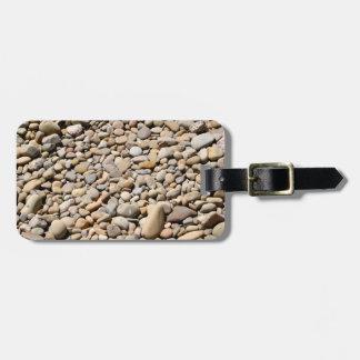 River Rocks Pebbles Travel Bag Tag