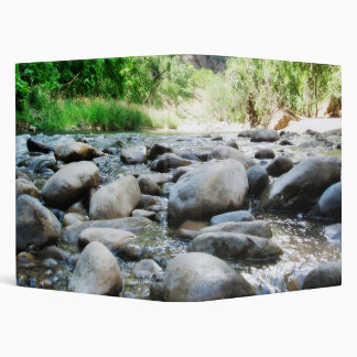 River Rocks @ The Virgin River 3 Ring Binder