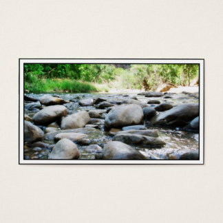 River Rocks @ The Virgin River Business Card