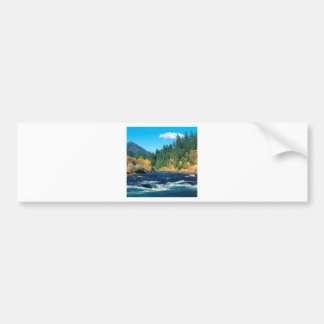 River Rogue Siskiyou Forest Oregon Bumper Sticker