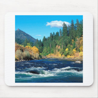 River Rogue Siskiyou Forest Oregon Mouse Pad