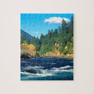 River Rogue Siskiyou Forest Oregon Puzzle