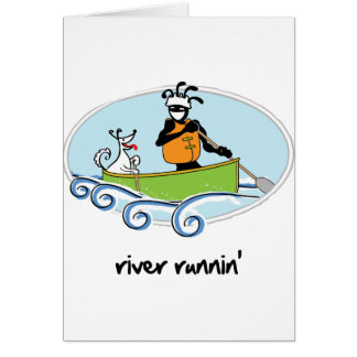 """""""River Runnin'"""" Card"""