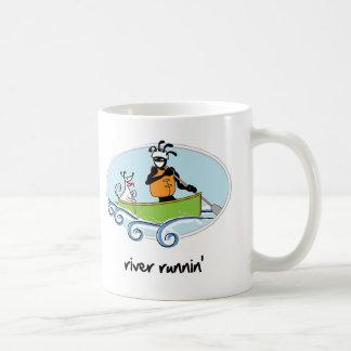 """River Runnin'"" Coffee Mugs"
