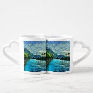 River running through Interlaken Coffee Mug Set