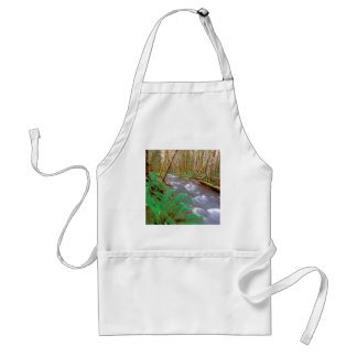 River Running Wild Hughes Olympic Adult Apron