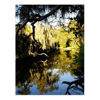 River Runs Past Postcard