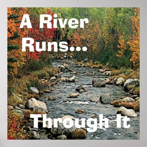 River Runs Through It Poster