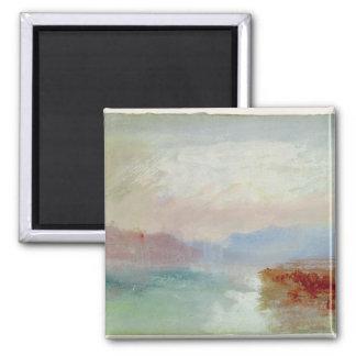 River scene, 1834 fridge magnet