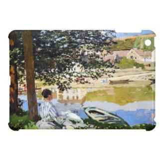 River Scene at Bennecourt, 1868 Claude Monet iPad Mini Covers