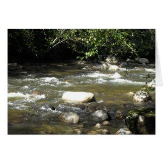 River Scene Card