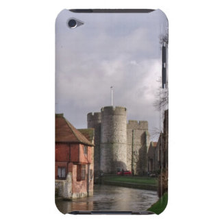 River Scene with Castle and Gardens Barely There iPod Cover