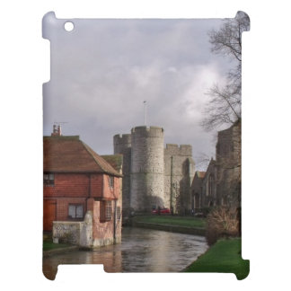River Scene with Castle and Gardens iPad Cases