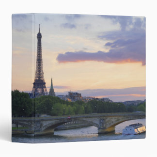 River Seine 3 Ring Binder