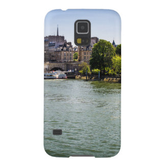 River Seine Ile De La Cite in Paris Photograph Case For Galaxy S5