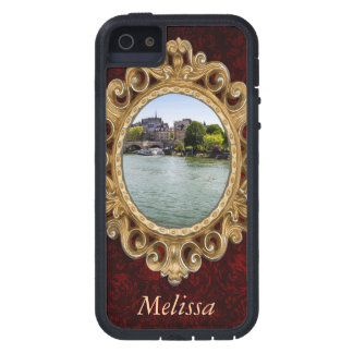 River Seine Ile De La Cite in Paris Photograph Case For iPhone SE/5/5s