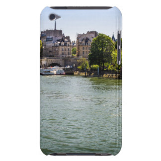 River Seine Ile De La Cite in Paris Photograph iPod Touch Cover