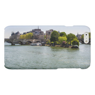 River Seine Ile De La Cite in Paris Photograph Matte iPhone 6 Case