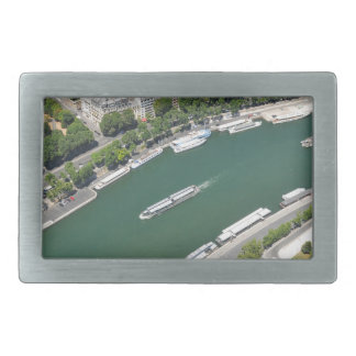 River Seine Rectangular Belt Buckle