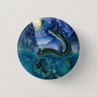 River Serpent Button