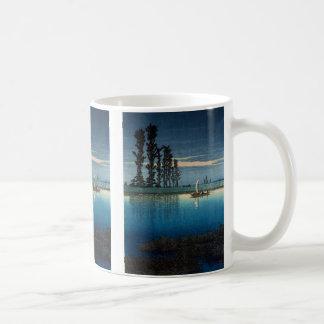 River shoal 巴 water, the Ushibori evening Coffee Mug