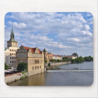 River side of Prague, Republic Czech, Mouse Pad