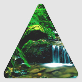 River Steep Ravine Mount Tamalpais Triangle Sticker