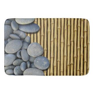 Stone bath mats zazzle for River stone bath mat