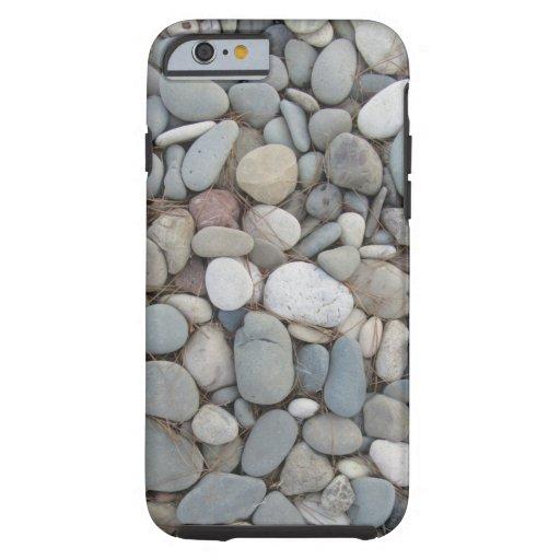 River Stones Fall Autumn Patterns Tough iPhone 6 Case