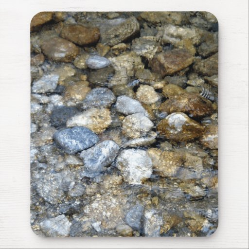 River Stones Mouse Pad