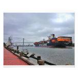 River Street, Savannah Art Photo