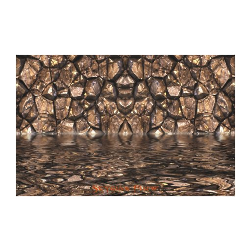 River Styx Walls of Hades Abstract Art Canvas