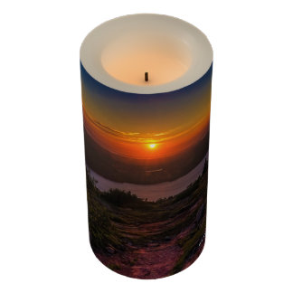 River Sunset 3x6 LED Candle