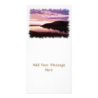 RIVER SUNSET CARD