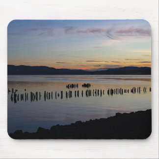 River Sunset Mouse Pad