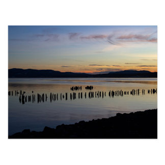 River Sunset Postcard