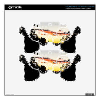 River Sunset PS3 Controller Decals