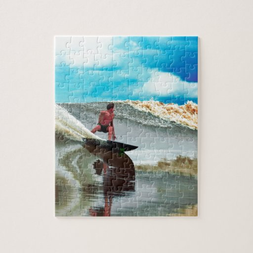 River surfing Seven Ghosts Sumatra Jigsaw Puzzles