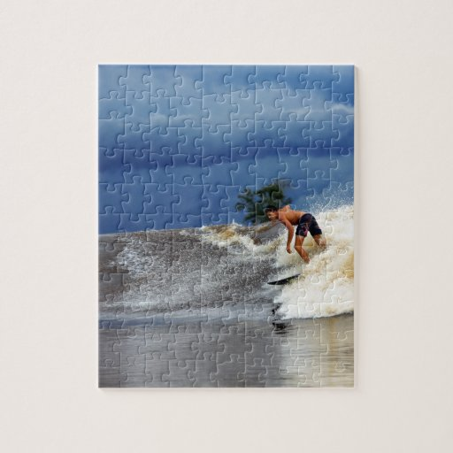 River surfing Seven Ghosts tropical Sumatra Puzzles