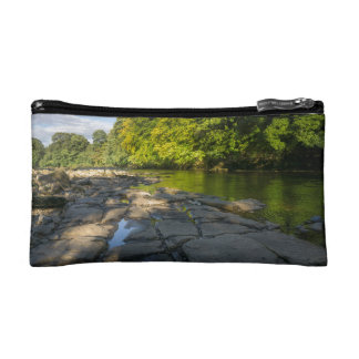 River Swale, Easby, Richmond, North Yorkshire Cosmetic Bag