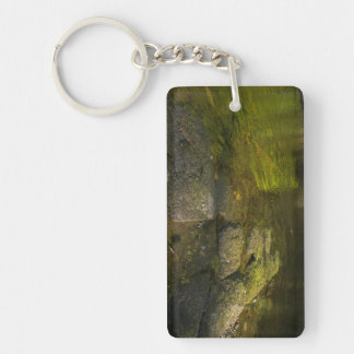 River Swale, Easby, Richmond, North Yorkshire Keychain