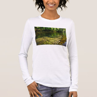 River Swale, Easby, Richmond, North Yorkshire Long Sleeve T-Shirt