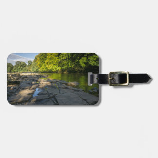 River Swale, Easby, Richmond, North Yorkshire Luggage Tag
