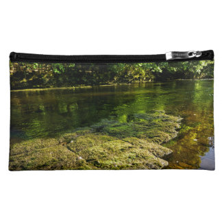 River Swale, Easby, Richmond, North Yorkshire Makeup Bag