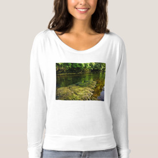 River Swale, Easby, Richmond, North Yorkshire T-shirt