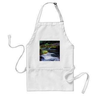 River Swirling Eddy Clackamas Oregon Adult Apron
