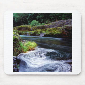River Swirling Eddy Clackamas Oregon Mouse Pad