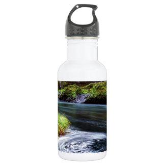 River Swirling Eddy Clackamas Oregon Stainless Steel Water Bottle