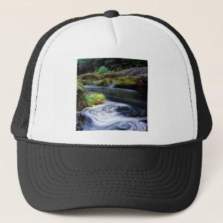 River Swirling Eddy Clackamas Oregon Trucker Hat