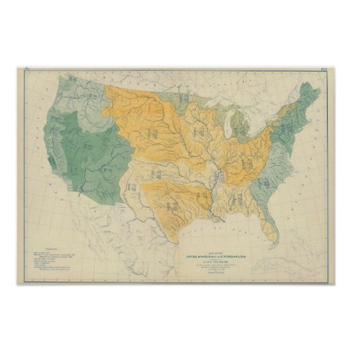 River Systems in the US Print